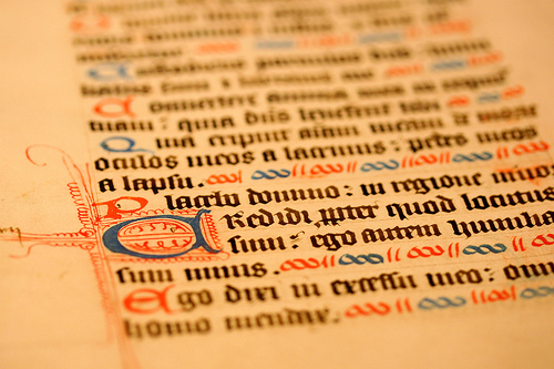 Manuscript by Muffet via Flickr